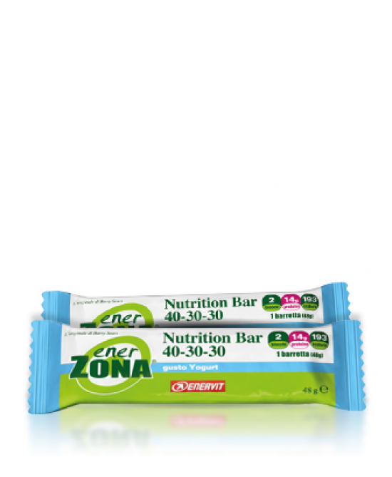 EnerZona Nutrition Bar 40-30-30 Gusto Yogurt 1 Pezzo 48 g - Farmalilla