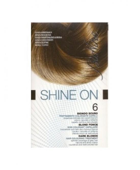 BioNike Shine On Trattamento Colorante Capelli Biondo Scuro 6 - Zfarmacia