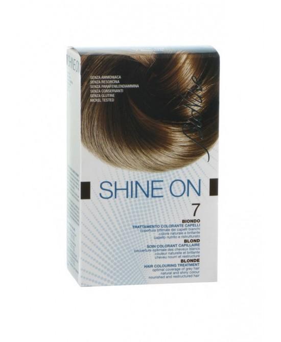 BioNike Shine On Trattamento Colorante Capelli Biondo 7 - Zfarmacia