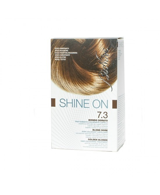 BioNike Shine On Trattamento Colorante Capelli Biondo Dorato 7.3 - Farmacia 33