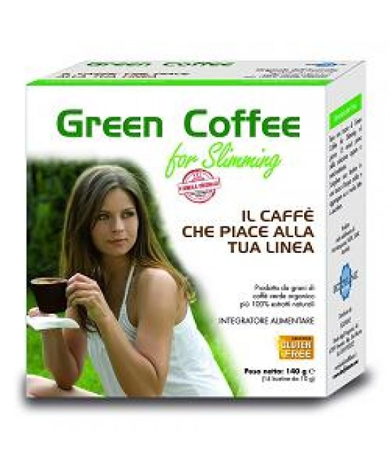 Green Coffee for Slimming Integratore per Dimagrire 140 gr