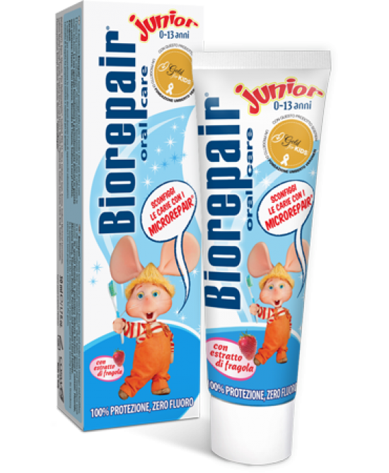 Biorepair Oral Care Junior 0-13 Anni Dentifricio 75ml - Farmapc.it