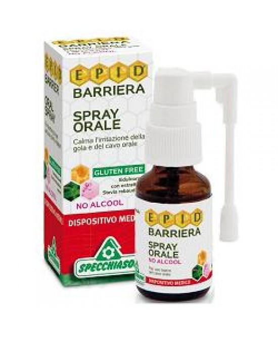 Specchiasol Epid Barriera Spray Orale No Alcool 15 ml - latuafarmaciaonline.it