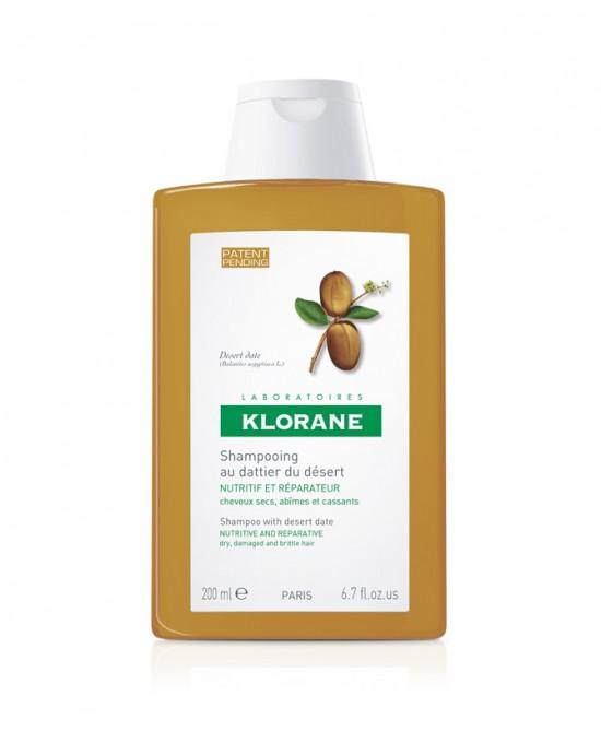 Klorane Shampoo Al Dattero Del Deserto 200ml - Zfarmacia
