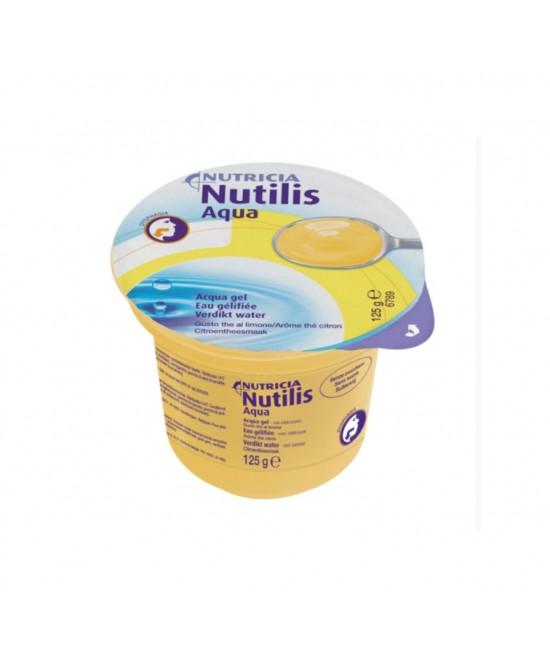Nutricia Nutilis Aqua Gel Bevanda Gusto Thé A Limone 12x125g - Farmapage.it