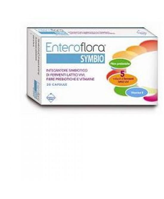 EnteroFlora Integratore Symbio 20 Capsule