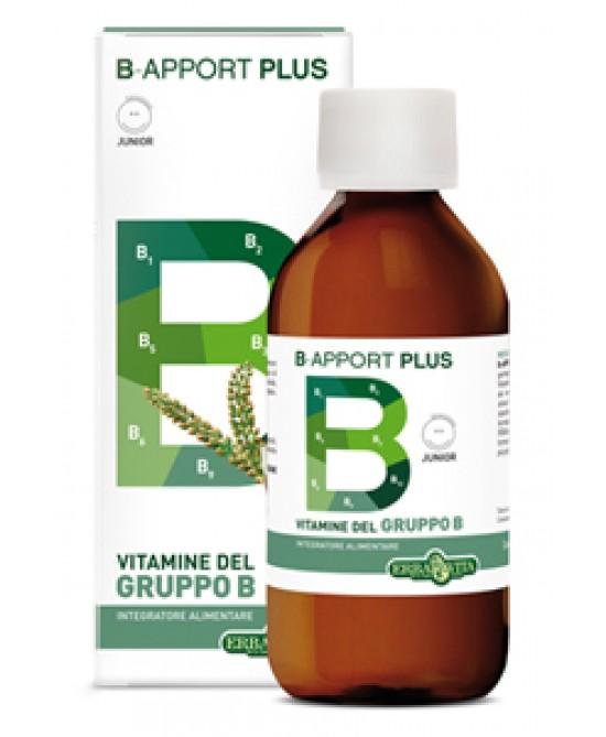 ErbaVita B-Apport Plus  Integratore Alimentare 200ml - Parafarmaciabenessere.it
