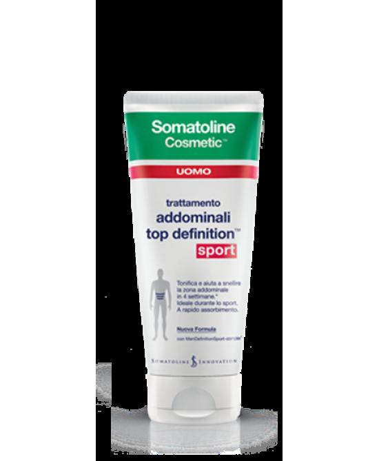 Somatoline Cosmetic Uomo Top Definition Sport 200ml - Farmacia Giotti