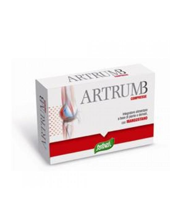 Artrum B con Mangostano Integratore per le Articolazioni 48 Compresse