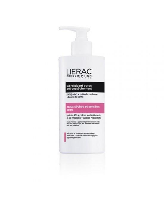 Lierac Prescription Latte Relipidante Corpo Anti-Secchezza 400ml - Antica Farmacia Del Lago
