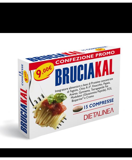 BRUCIAKAL 15CPR DIETALINEA prezzi bassi
