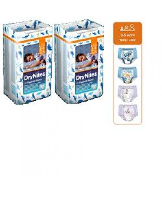 Huggies Drynites Boy 3/5an 10p offerta