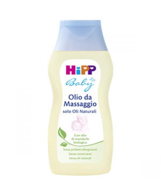 Hipp Baby Olio Da Massaggio 200ml - Iltuobenessereonline.it