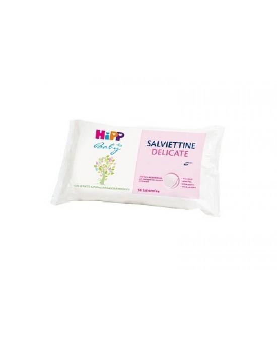 Hipp Baby Salviettine Delicate 56 Pezzi - Farmacistaclick