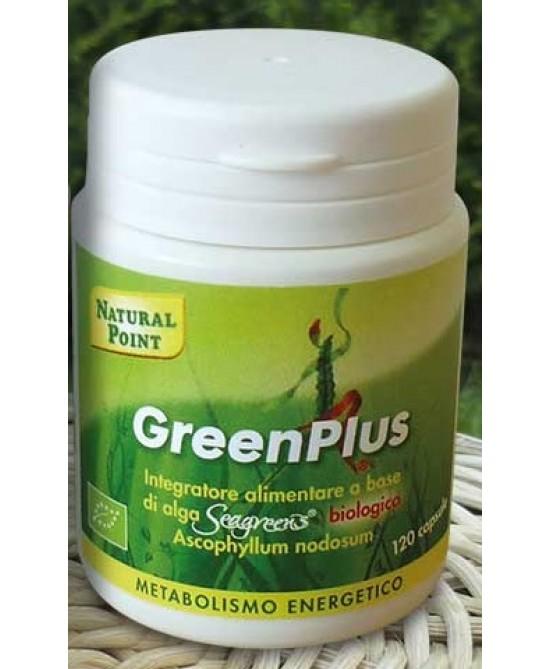 Natural Point Green Plus Integratore Benessere dell