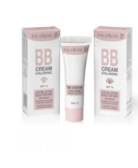 Incarose Bb Cream Hyal Medium Crema Bellezza Viso - Farmastar.it