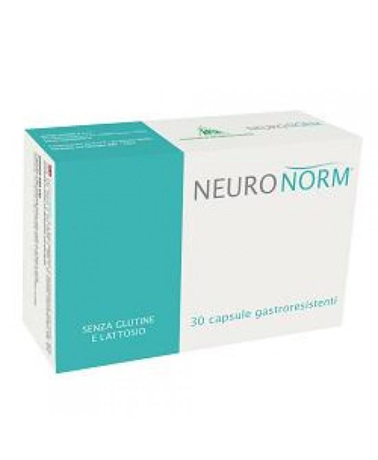 NEURONORM 30CPS GASTRORESISTEN prezzi bassi