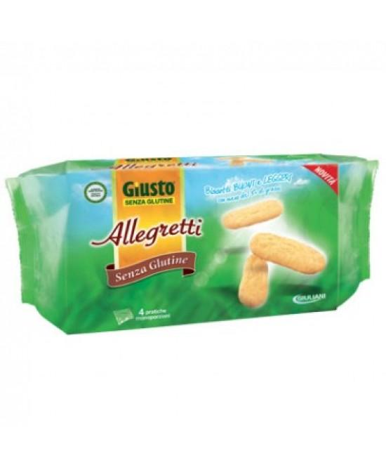 Giusto Allegretti Biscotti Senza Glutine offerta