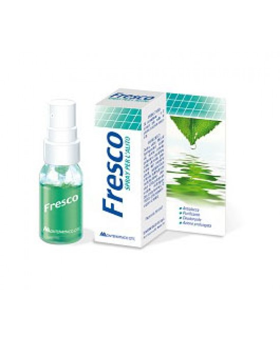 Fresco Spray Per L'Alito 15ml - La tua farmacia online