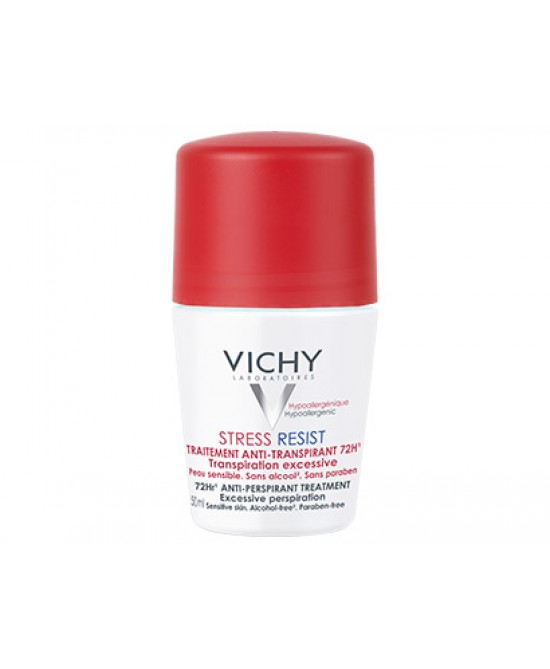 Vichy Deodorante Stress Resist Trattamento Intensivo Anti-Traspirante 72h  50ml - Farmapage.it