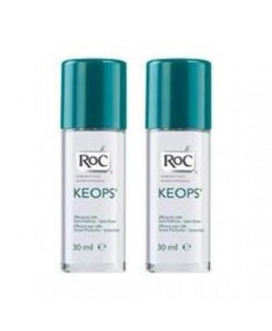 Roc Keops Deodorante Roll-On Senza Profumo 48h 2x30ml - FARMAPRIME