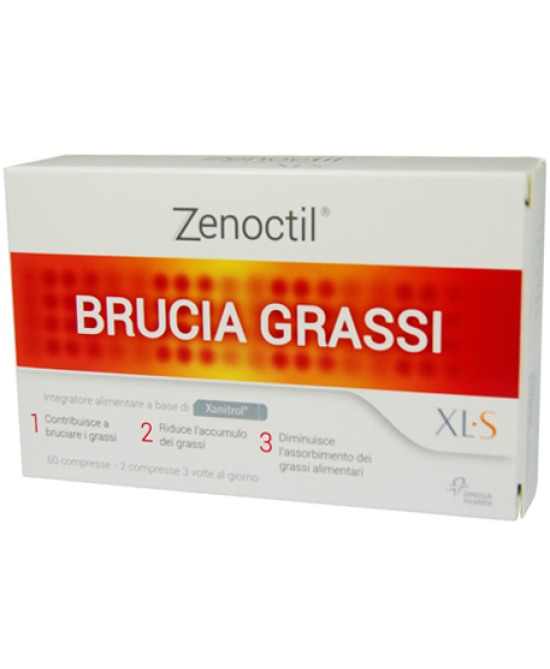 Xls Zenoctil Brucia Grassi Integratore Alimentare 60 Compresse - Farmaciasconti.it