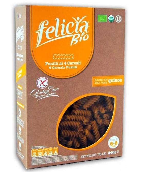 Felicia Bio Pasta Multicereali Fusilli Senza Glutine 340g - FARMAEMPORIO