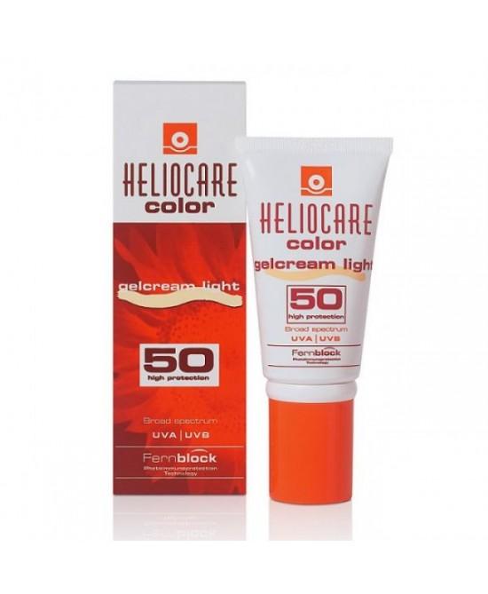 Heliocare Color Gel Crema Solare Colorata Light SPF50 Protezione Viso 50 ml