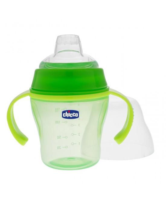 Chicco Tazza Soft Verde +6Mesi - Farmapage.it