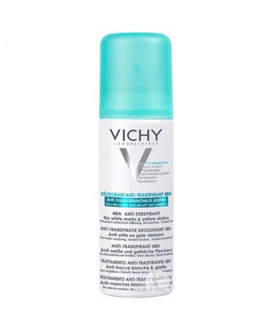 Vichy Deodorante Spray Anti-traspirante Anti-tracce 48h 125 ml