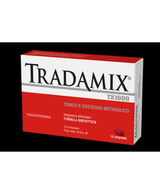 Tradamix Tx 1000 16 compresse - Parafarmacia Tranchina