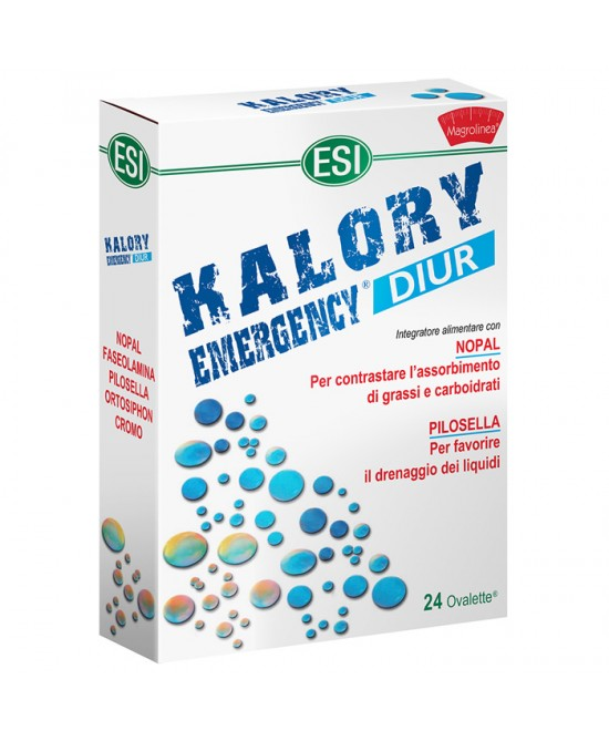 Esi Kalory Emergency Diur 24 Ovalette - Farmaconvenienza.it