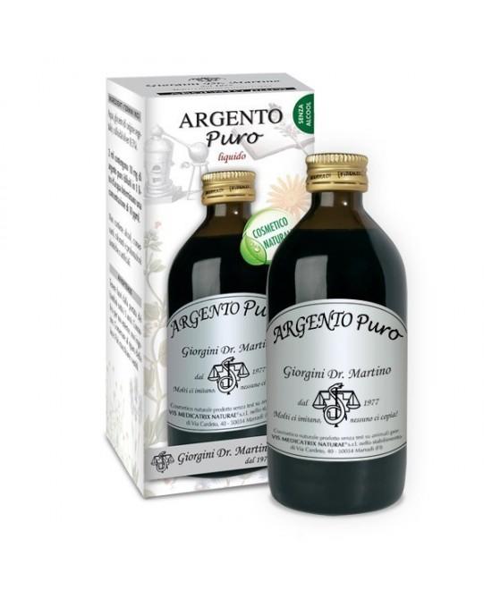 Dr. Giorgini Argento Puro Analcolico Soluzione Antimicrobica 200 ml