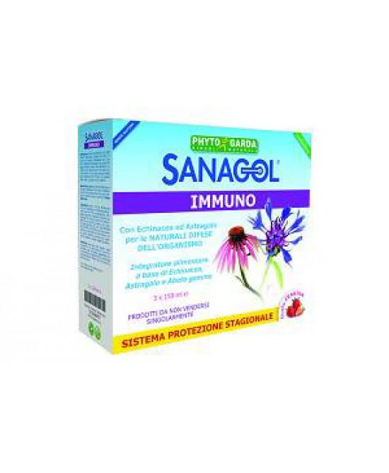 Phyto Garda Sanagol Immuno Triple Pack integratore Alimentare - Speedyfarma.it