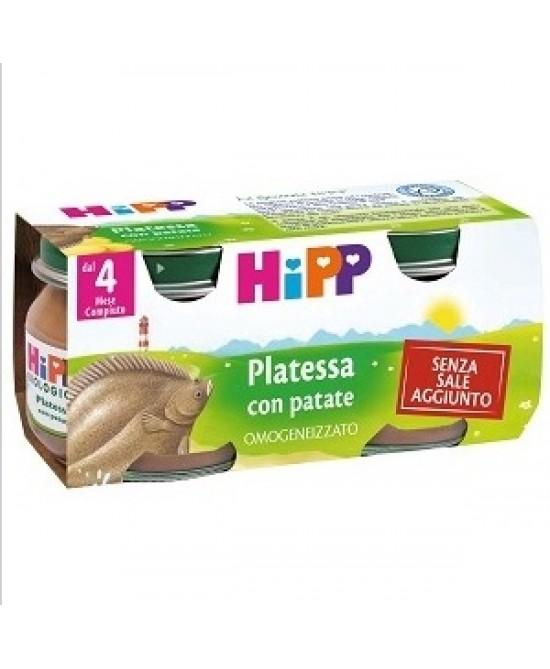 HiPP Omogeneizzato Platessa Con Patate 2x80g - Farmafamily.it