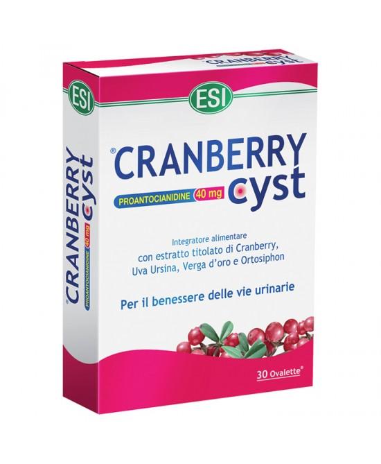 Esi Cranberry Cyst 30 Ovalette - Speedyfarma.it