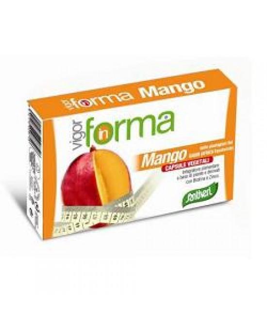 Santiveri Vigorforma Mango Integratore 40 Capsule
