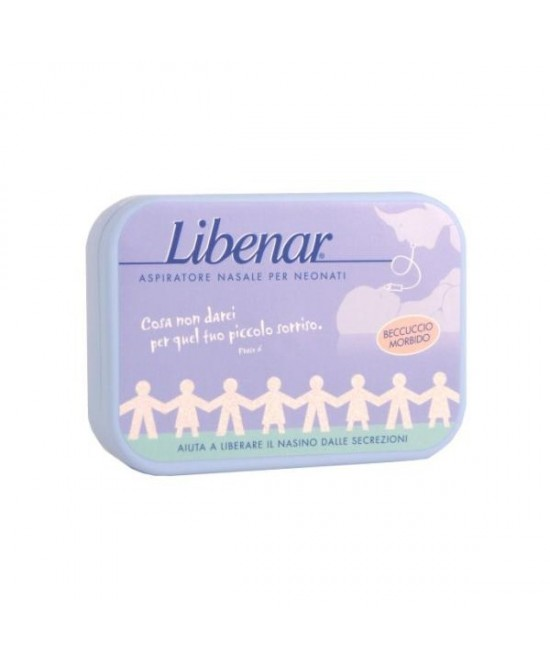 Libenar Aspiratore Nasale Neonati 125ml - Farmafamily.it