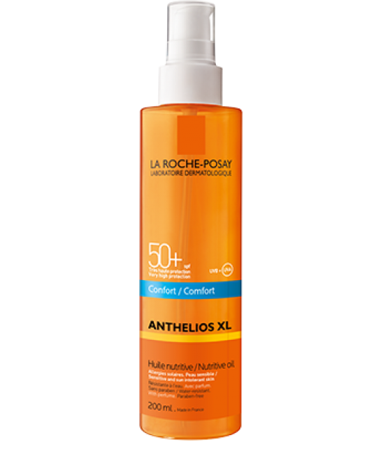 La Roche-Posay Anthelios Xl Spf50+ Olio Nutriente Invisibile Comfort 200ml - Farmaci.me