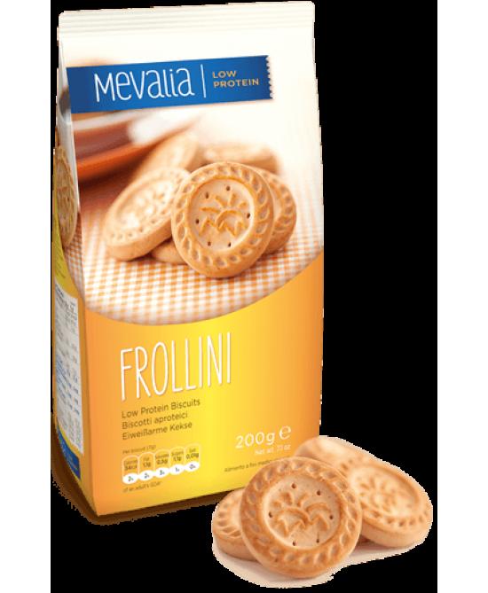Mevalia Frollini Biscotti Aproteici 200g - Farmastar.it