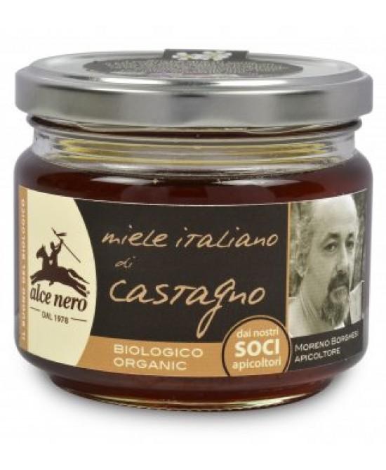 Alce Nero Miele Italiano di Castagno Biologico 300 g