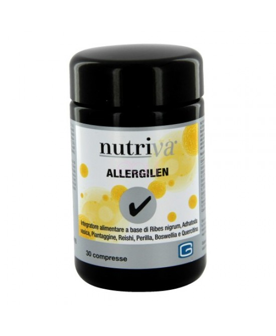 Nutriva Allergilen Integratore Alimentare 30 Compresse 900mg - Farmabravo.it