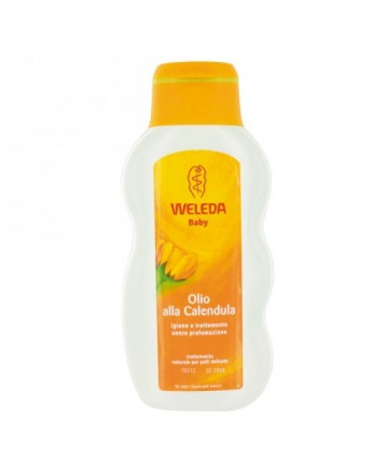 Weleda Baby Calendula Olio Trattante 200ml - Farmastar.it