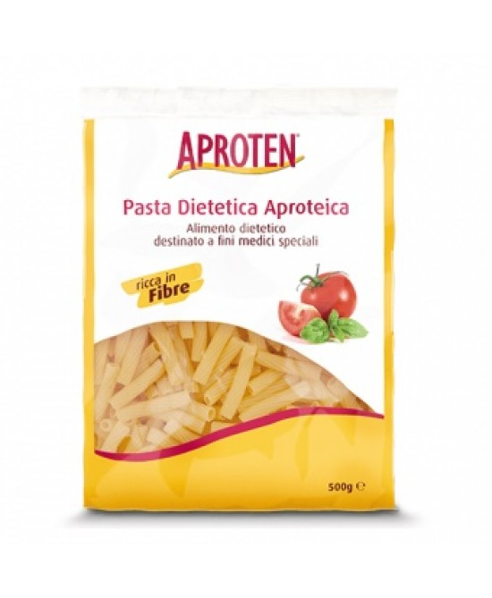 Aproten Rigatini Pasta Dietetica Aproteica Confezione Promozionale 500g - Farmafamily.it