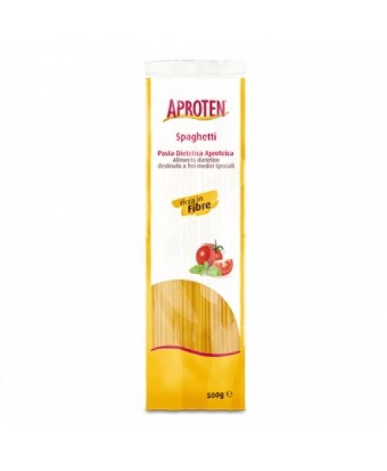 Aproten Spaghetti Pasta Dietetica Aproteica 500g - Farmafamily.it