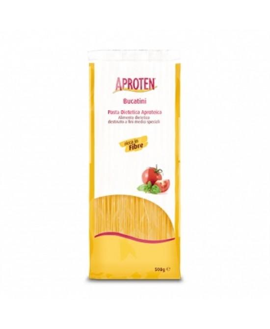 Aproten Bucatini Pasta Dietetica Aproteica 500g - La farmacia digitale