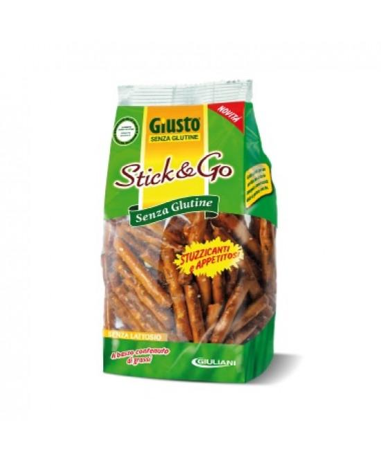 Giusto Stick & Go Snack Senza Glutine 75g - Farmalandia