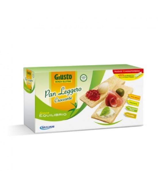 Giusto Senza Glutine Pan Leggero Croccante 10 Monoconfezioni