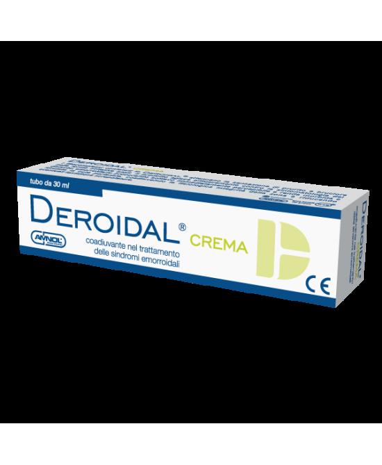 DEROIDAL CREMA TRATTAMENTO SINDROMI EMORROIDALI 30 ML - Farmacia Centrale Dr. Monteleone Adriano