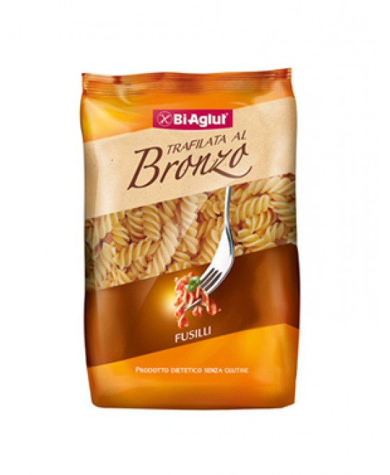 Biaglut Fusilli Pasta Corta Trafilata Al Bronzo Senza Glutine 500g
